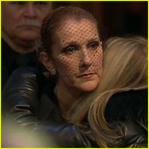 Celine Dion Speaks Out at Rene Angelil's Visitation