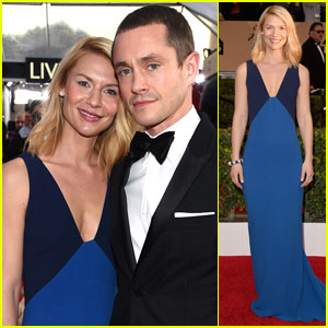 Claire Danes & Hugh Dancy Couple Up for SAG Awards 2016