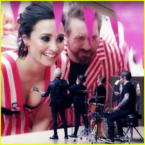 Demi Lovato & NSYNC's Joey Fatone Star In Fall Out Boy's 'Irresistible' Video - Watch Here!