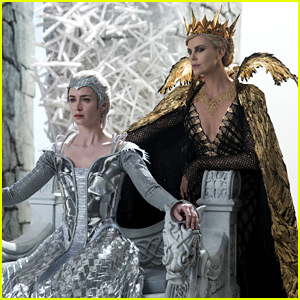 Emily Blunt & Charlize Theron Are So Fierce in New 'Huntsman' Images!