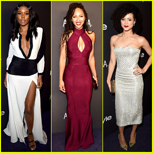 Gabrielle Union Keeps the Party Going After Golden Globes 2016