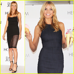 Heidi Klum Celebrates Heidi Klum Intimates In Sydney!