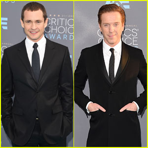 Hugh Dancy & Damian Lewis Suit Up at Critics' Choice Awards 2016