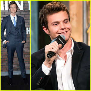 Jack Quaid Hypes Up 'Vinyl' At AOL Build Before Premiere