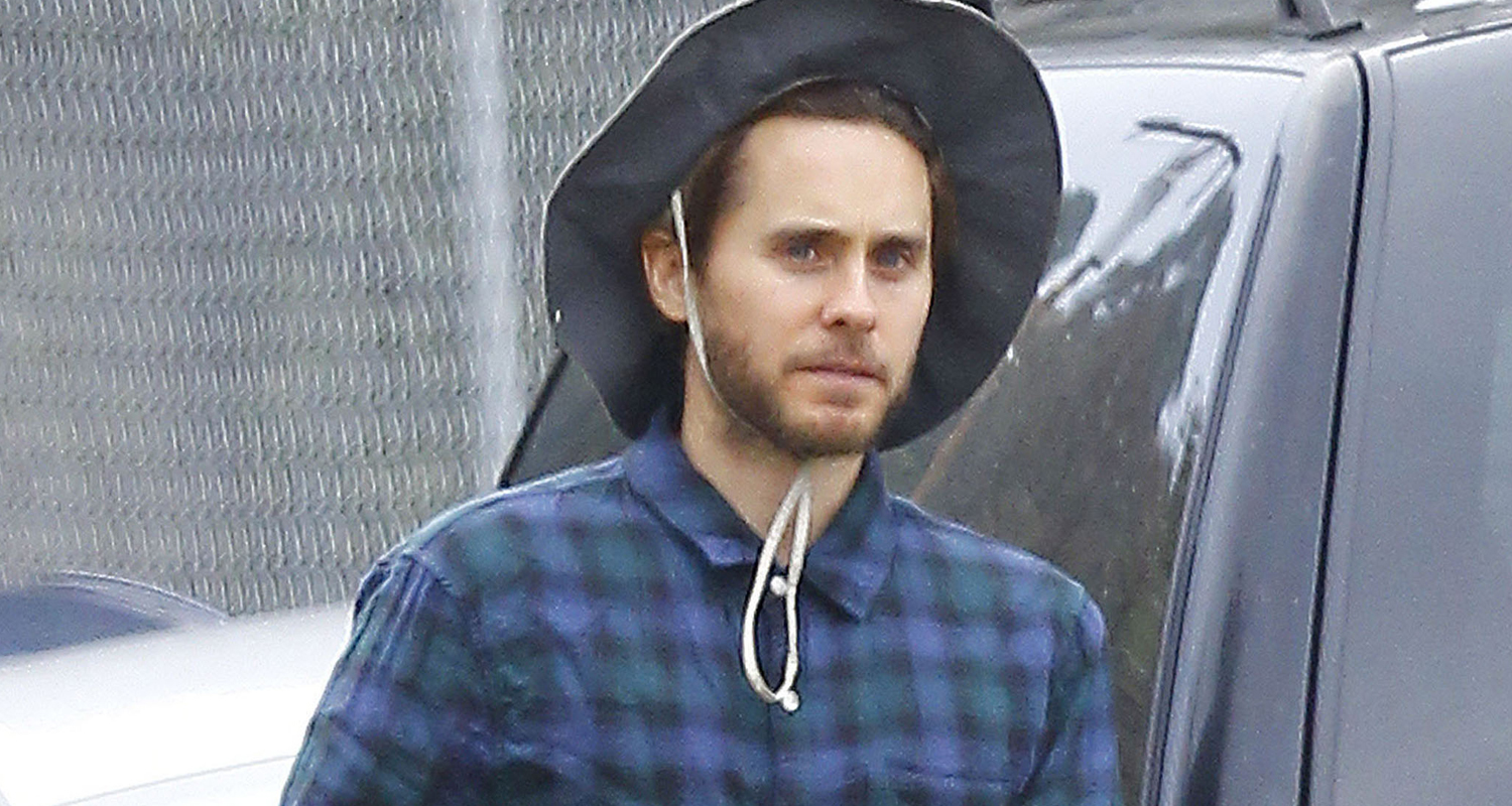 Jared Leto Steps Out After TMZ Sues Source That Leaked ... Jared Leto