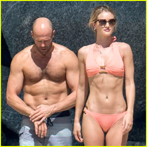 Jason Statham Rosie Huntington Whiteley Flaunt Perfect Beach Bodies In Thailand
