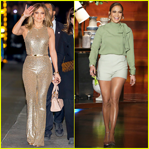 Jennifer Lopez Talks Spending Holiday's with Beau Casper Smart on 'Ellen' - Watch Here!