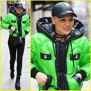 Jessie J Felt Honored to Perform in Times Square for NYE!