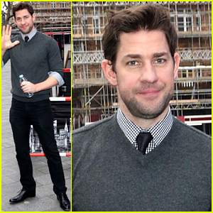 John Krasinski's 'Office' Co-Star Jenna Fischer Says They Were 'Genuinely in Love' - Watch Now