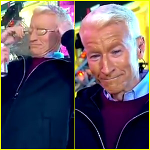 Kathy Griffin Gives Anderson Cooper a NYE Spray Tan! (Video)