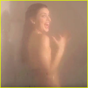 Kendall Jenner Gets Pranked by a Shark in the Shower - Watch Now