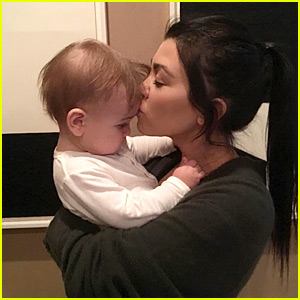 Kourtney Kardashian's New Year's Eve Kiss Was Baby Reign!