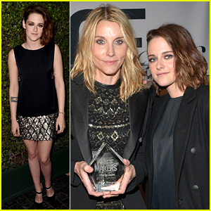 Kristen Stewart Honors Makeup Artist Jillian Dempsey at Marie Claire Image Maker Awards!