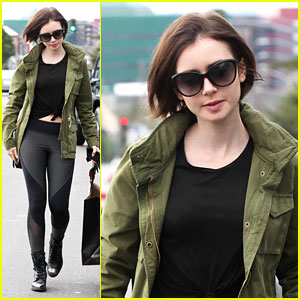 Lily Collins Appreciates the Little Things in Life