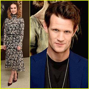 Lily James & Matt Smith Join 'Pride & Prejudice & Zombies' Cast For LA Photo Call