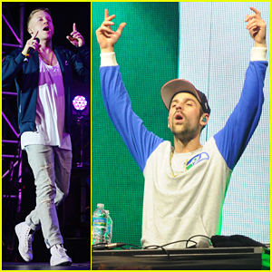 Macklemore & Ryan Lewis Perform at Orange Bowl Beach Bash!