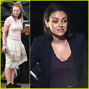 Mila Kunis & Kristen Bell Are 'Bad Moms' Only on Movie Sets!