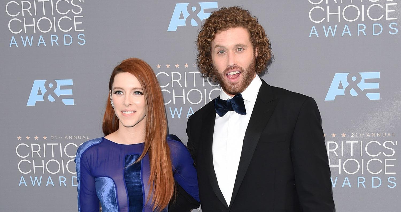 Host T.J. Miller Brings Wife Kate Gorney to Critics ...