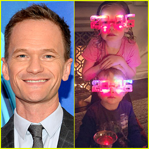 Neil Patrick Harris Rings in 2016 at Home with His Kids!