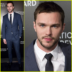 Nicholas Hoult Supports 'Mad Max: Fury Road' at National Board of Review Gala