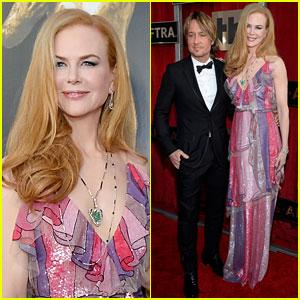 Nicole Kidman & Keith Urban Couple Up at SAG Awards 2016