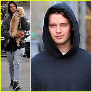 Patrick Schwarzenegger Gives His Dog a Lift to Lunch