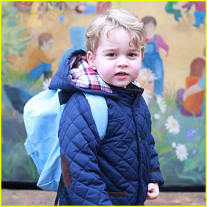 Prince George Attends First Day of Nursery School - See the Pics!
