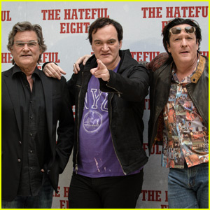 Quentin Tarantino Takes 'Hateful Eight' to Italy