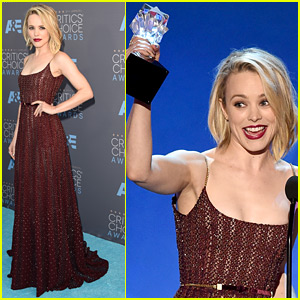 Rachel McAdams Accepts Best Ensemble Award at Critics' Choice Awards 2016!