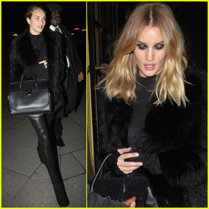 Rosie Huntington-Whiteley Goes Dramatic for Versace
