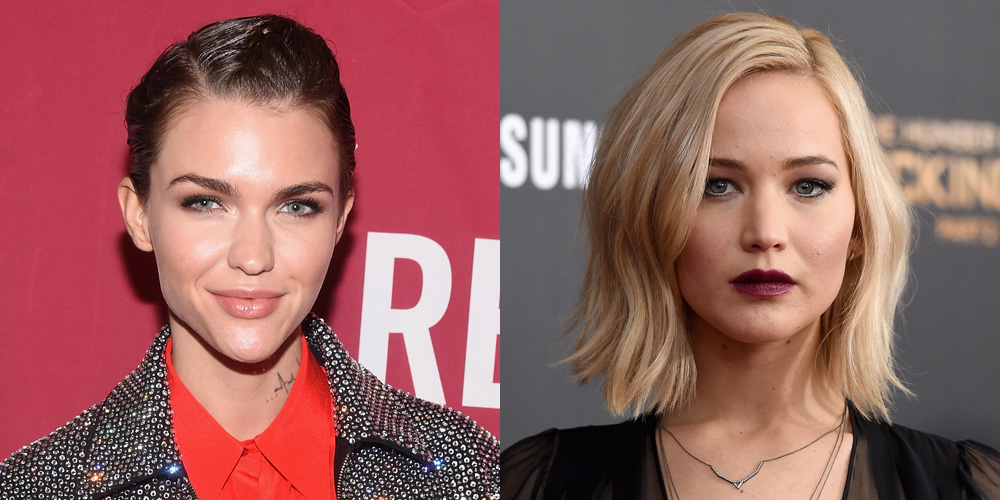 Ruby Rose Comments on Jennifer Lawrence's 'Slutty Power Lesbian ...