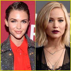 Ruby Rose Comments on Jennifer Lawrence's 'Slutty Power Lesbian ...