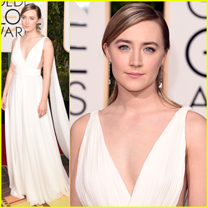 Saoirse Ronan Turns Heads At Golden Globes 2016
