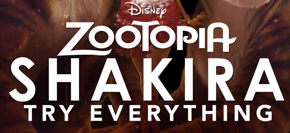 Shakira Drops Zootopia S Try Everything Full Song