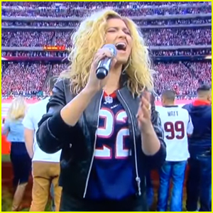 Tori Kelly Wows With National Anthem at Chiefs VS Texans Football Game