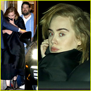 Adele & Boyfriend Simon Konecki Grab Dinner in Malibu