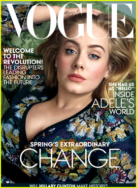 Adele Covers 'Vogue' March 2016, Discusses Her Weight Loss