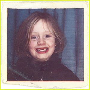 Adele Shares Childhood Pic for 'When We Were Young' Artwork!
