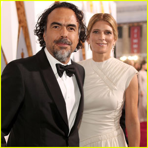 'The Revenant' Director Alejandro Gonzalez Inarritu Arrives at Oscars 2016 With Wife Maria