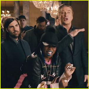 Amazon Echo Super Bowl Commercial 2016: Alec Baldwin & Missy Elliott Drop New Song! (Video)