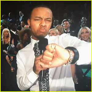 Bow Wow Has Grammys 2016 Fail Trying to Start Show (Video)