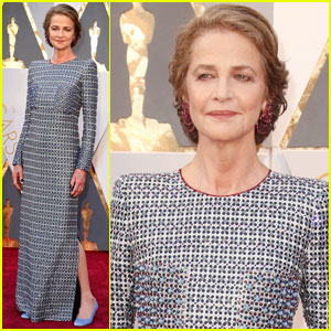 Charlotte Rampling Looks Lovely on Oscars 2016 Red Carpet
