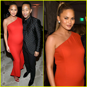 Chrissy Teigen Changes Up Her Look for Grammys 2016 After Party!