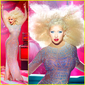 Christina Aguilera Has Massive Hair for 'The Voice' 2016 Promo!
