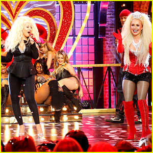 Christina Aguilera Joins Hayden Panettiere for Epic 'Lady Marmalade' Lip Sync Battle - Watch Now!