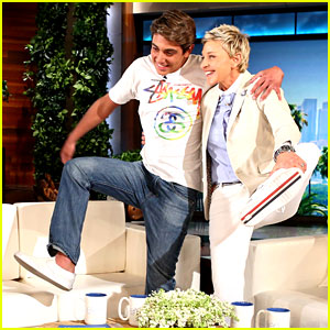 'Damn Daniel' Brings His White Vans to 'The Ellen Show' (Video)
