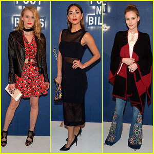 Leven Rambin & Nicole Scherzinger Attend Alice + Olivia NYFW 2016 Show