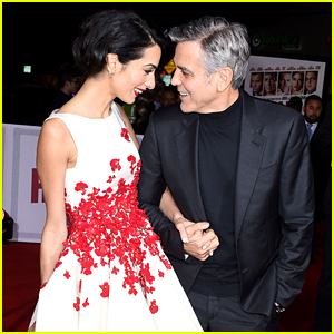 George & Amal Clooney are Picture Perfect at 'Hail, Caesar!' Premiere
