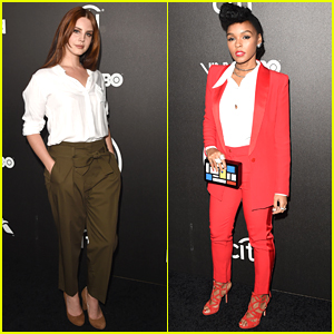 Lana Del Rey & Janelle Monae Hit Up Billboard's Power 100 Event During Grammys Weekend