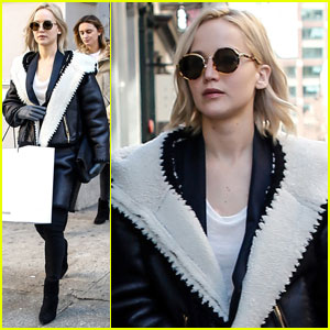 Jennifer Lawrence Picks Up Some Items at Alexander Wang